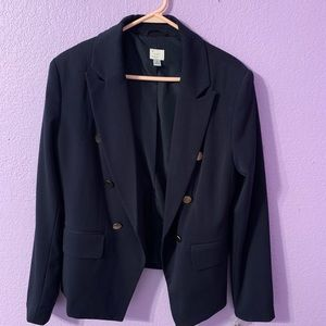A new day navy blazer size 12 with tags